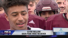 Clyde Bellow - Deer Park High School - Player of the Week