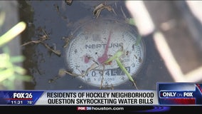 Several residents in Hockley subdivision question high water bills