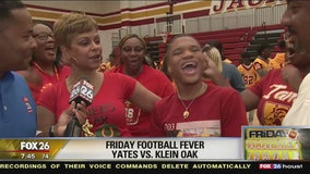 Friday Football Fever Klein Oak Panthers and Jack Yates Lions show their pride!
