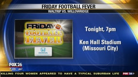 Friday Football Fever- Willowridge Eagles and the Waltrip Rams