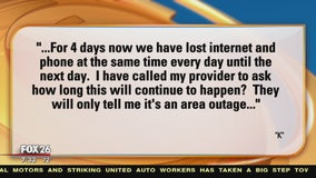 Your Legal Questions Answered: Retainer fee & internet outage