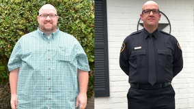 470 pound man undergoes amazing fitness journey to become a police officer