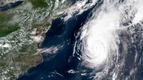 Hurricane Chris sending risky surf ashore along East Coast