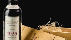 Bottle of scotch auctioned off for nearly $2 million