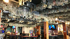 Sarasota bar with nearly $15,000 stuck to walls donates money for hurricane victims in Bahamas