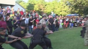 Deputies, police and community members gather for National Night Out