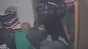 2 suspects wanted in violent armed robbery at Houston auto parts store