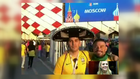 Houston World Cup fans fly to Russia