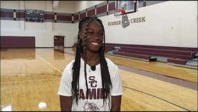 Summer Creek High School junior Adaora Nwokeji excels on the court & in the classroom