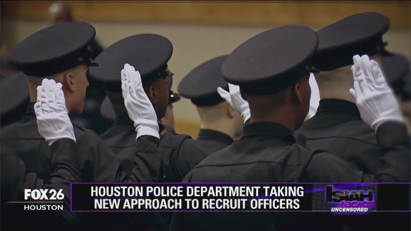Houston Police Department takes new approach to recruit officers