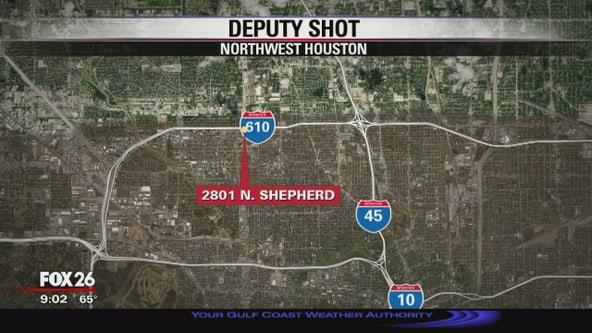 Deputy shot at northwest Houston Five Guys restaurant