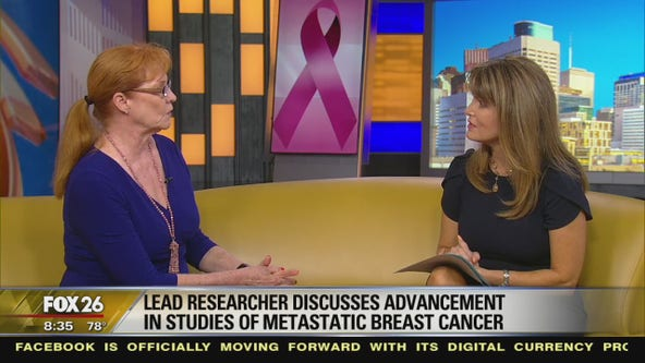 Lead researcher discusses advancement in studies of metastatic breast cancer