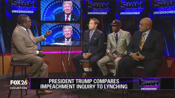 President Trump compares impeachment inquiry to lynching