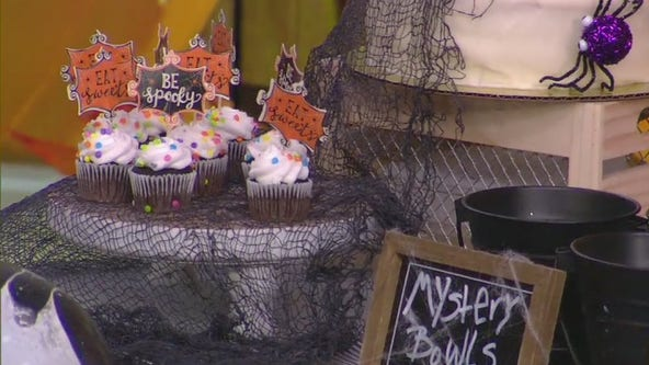 Spooky crafts and and party decor for Halloween