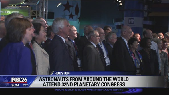 Astronauts from around the world attend 32nd Planetary Congress
