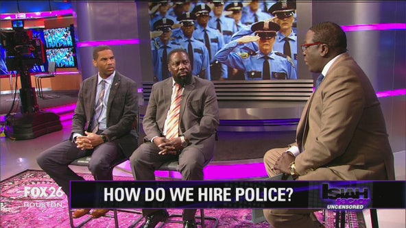 The process of hiring police officers