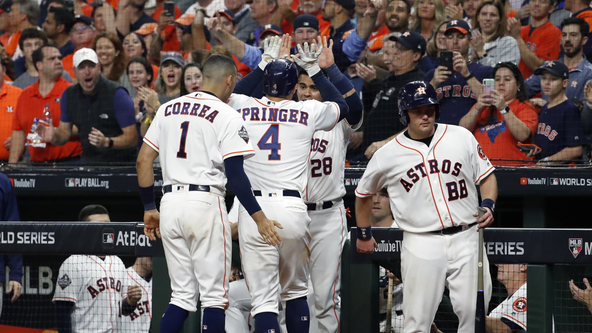 Astros offense stalls as Nationals take win, 4-5