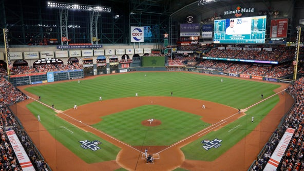 Man in Houston Astros dugout hit by foul ball, taken to hospital