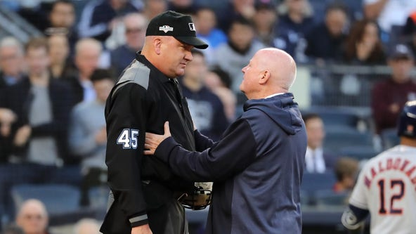 Major League Umpire Jeff Nelson no longer participating in ALCS after Game 3 concussion