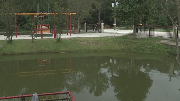 4-year-old girl pulled from man-made pond in Cypress dies