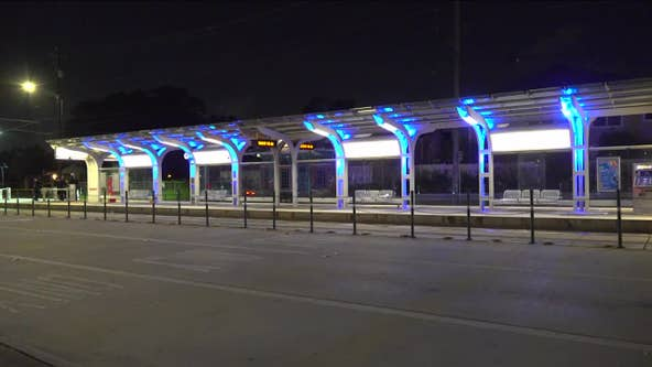 Person found shot on METRO platform in north Houston