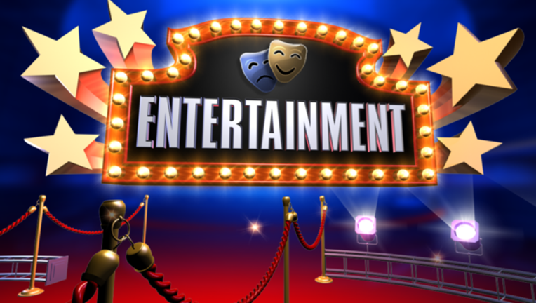 Entertainment Blue Red png