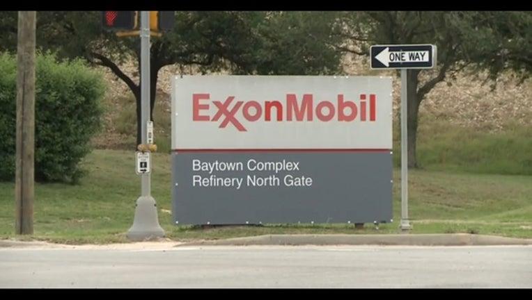 Baytown ExxonMobil Refinery
