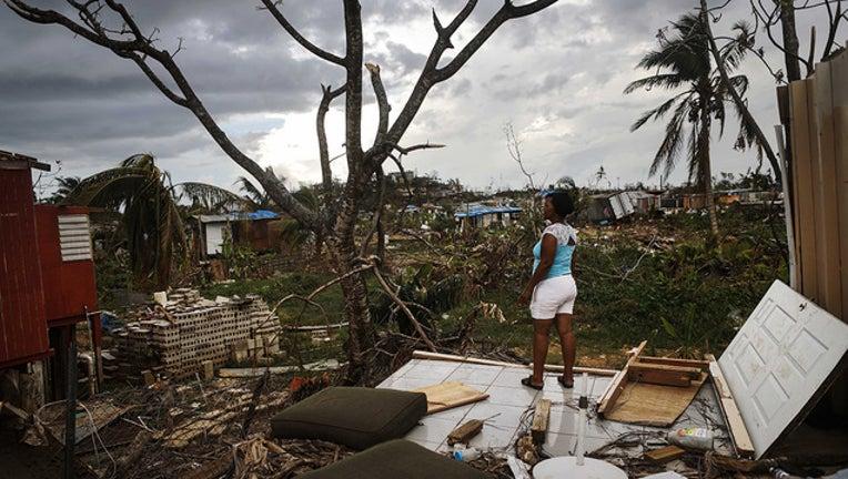 GETTY - Hurricane Maria in Puerto Rico WTVT-401385