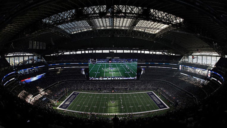 Dallas Cowboys AT&T Stadium field overview GETTY-409650