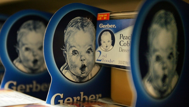 db3f320c-GETTY Gerber Logo on Gerber Food Product 100418-408200