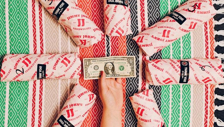 Jimmy John's $1 Sub Day-404023