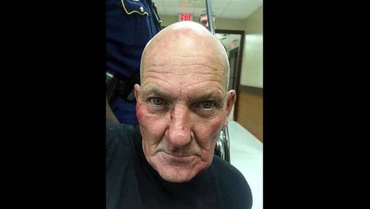 dbf6dbed-(Louisiana State Police via AP). This photo released by the Louisiana State Police shows Kevin Daigle, 54, of Lake Charles, La.