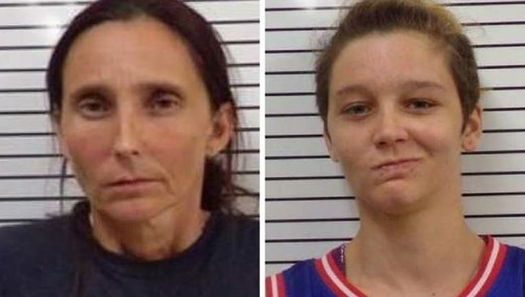 Patricia Ann Spann and Misty Spann (Stephens County Sheriff's Dept)-401096