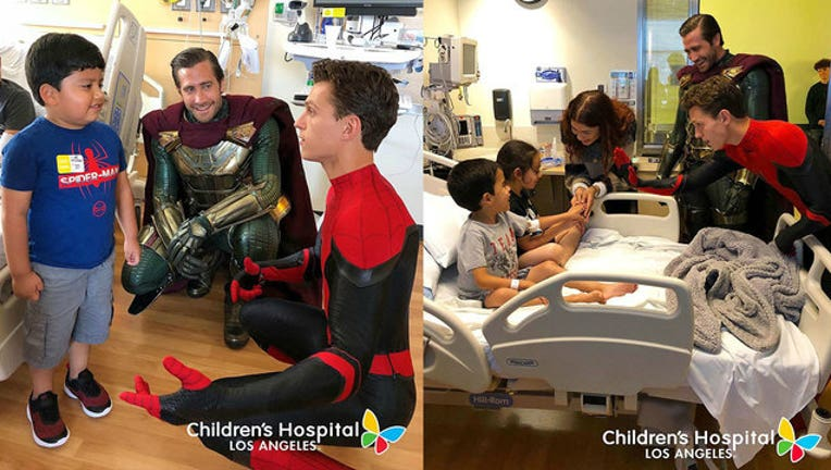 Spider-Man-cast-Tom-Holland,-Zendaya,-Jake-Gyllenhaal-surprises-kids-at-Children's-Hospital-LA_1562079737221-407068.jpg