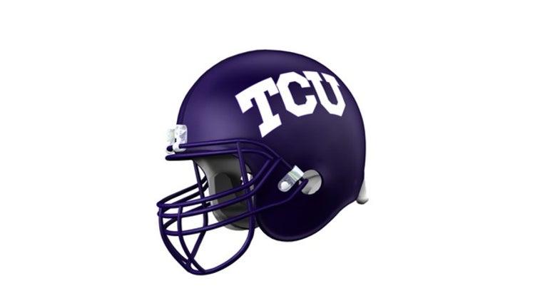 2e4204e5-Texas Christian University Horned Frogs helmet