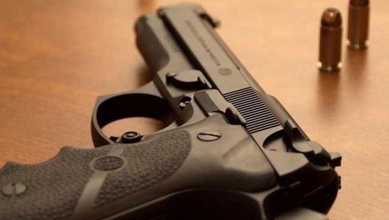 gun and bullets-407693
