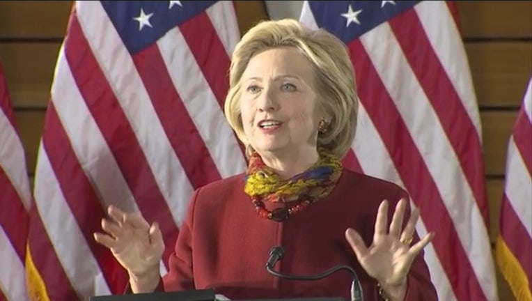 Hillary Clinton in Minneapolis-409162