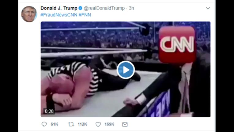 Trump's CNN tweet 7-2-2017