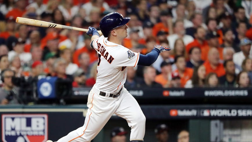 Houston Astros lose Game 2 of the World Series by nine runs