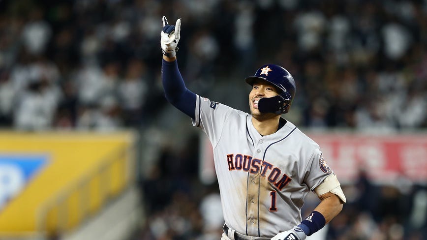 Astros beat Yankees in Game 4, bringing series to 3-1