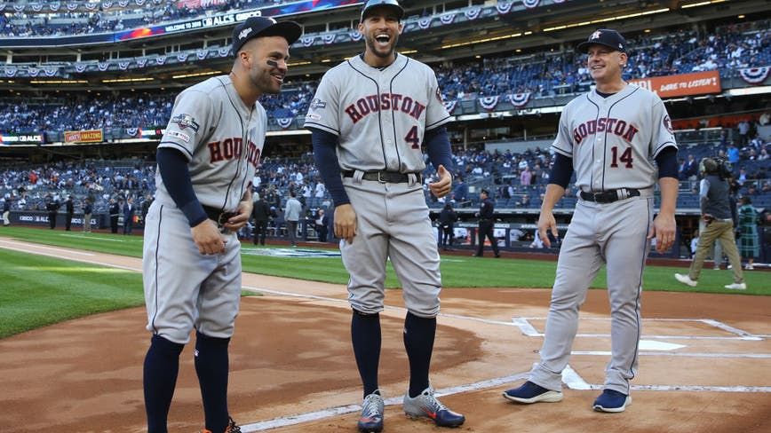 Heavy rains postpone Astros-Yankees ALCS Game 4