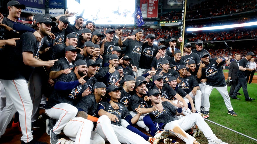 Houston Astros finalize 2019 World Series roster