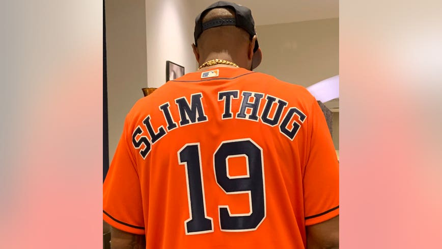 "Houston rapper Slim Thug to call ""Play Ball"" before Game 6 of ALCS"