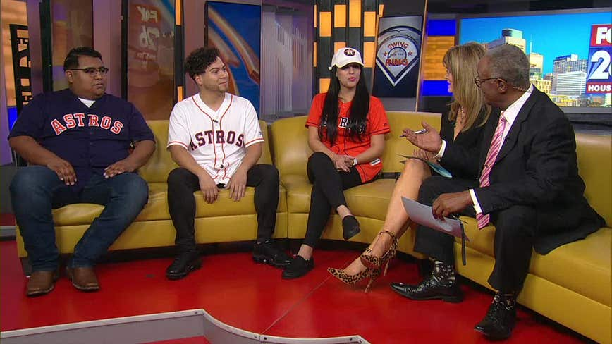Lance McCullers Jr. gives World Series tickets to Astros fans who had food thrown on them