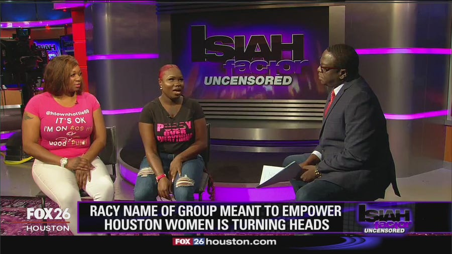 Racy name of group meant to empower Houston women is turning heads