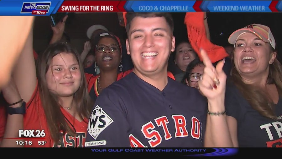 Astros fans are ready to take on the Yankees in ALCS