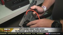 HPD to give away gun locks to prevent stolen weapon violence