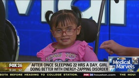 A four-year old girl who has been living with a rare energy zapping disorder is a medical marvel