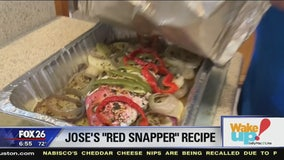 Jose Grinan's Famous Baked Red Snapper