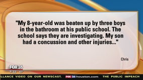 Your Legal Questions: Who pays medical bills after son was beat up? Court fees if we haven't gone to court?